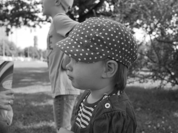 Kinder fotografieren - schau nur nicht her