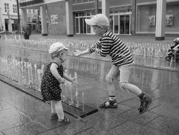Kinder fotografieren - bitte nicht stören
