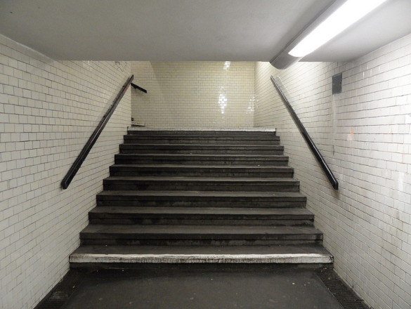 Kein Fahrstuhl nur Treppen