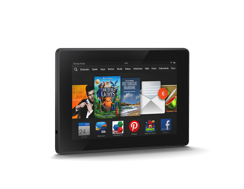 Kindle Fire HD mit der App FreeTime