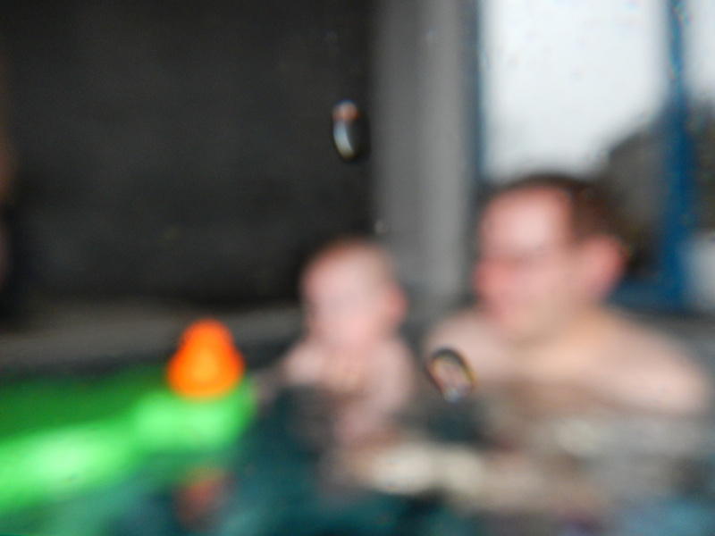 Babyschwimmen bei den Quietschenten am Müggelsee