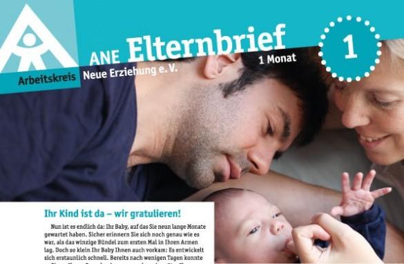 Cover ANE Elternbrief Ausgabe 1