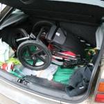 Viel Platz im Kofferraum