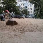 Spielplatz Traveplatz - Viel Platz zum buddeln