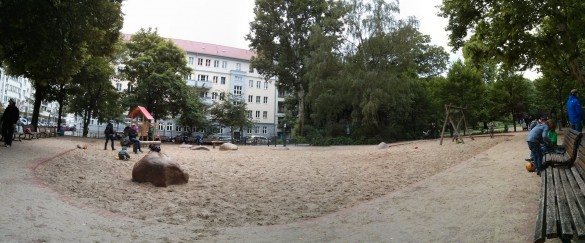Spielplatz Traveplatz Panorama