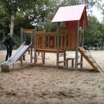 Spielplatz Traveplatz Kletterhaus