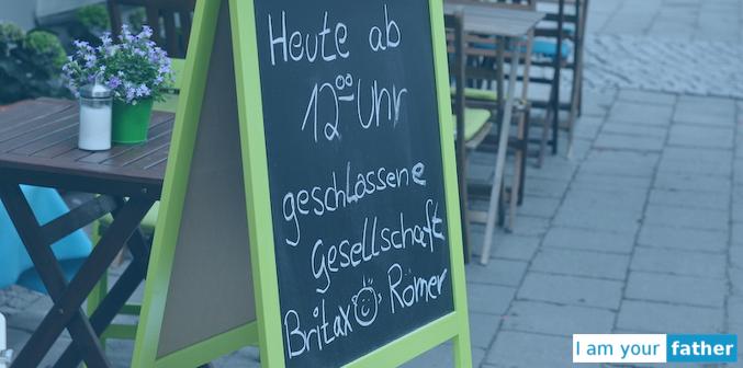 Britax Römer Blogger Café