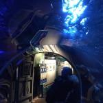 im Tunnel durchs Wasser