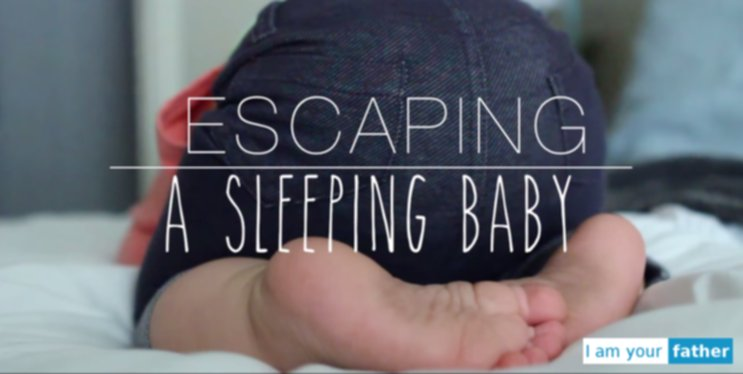 Escaping sleeping Baby