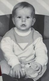 Sebastian mit 2 Jahren