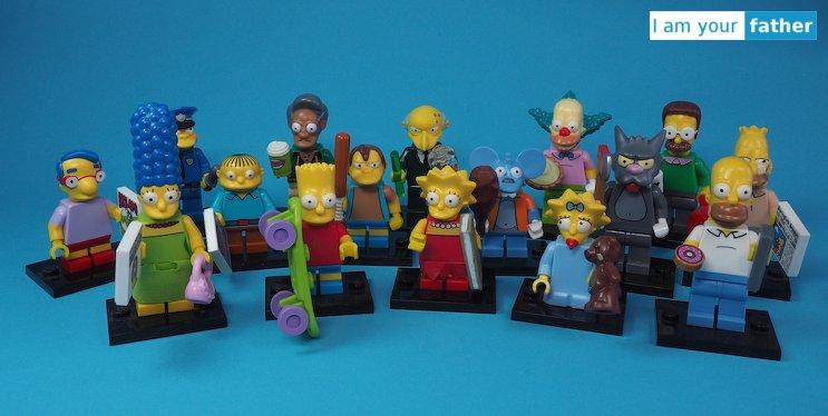 LEGO Minifigure Simpsons