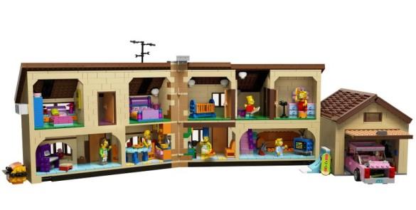 LEGO - The Simpsons Haus