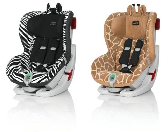 Britax Römer King II ATS - Zebra & Giraffe