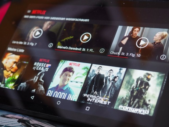 Video on Demand auf dem Tablet oder Smart TV