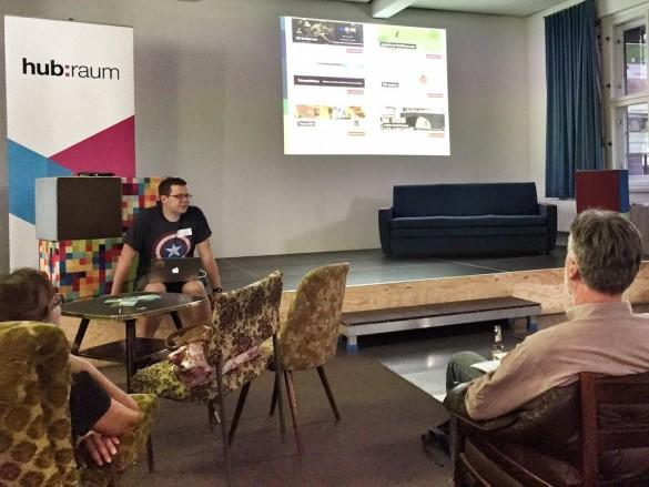 Mein Vortrag beim 8ten #blogtisch