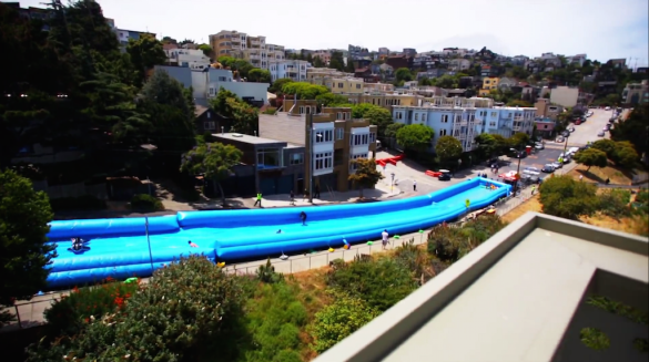 Wasserrutsche San Francisco