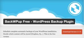 Wordpress Plugin BackWPup
