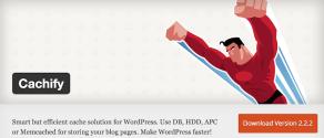 Wordpress Plugin Cachify