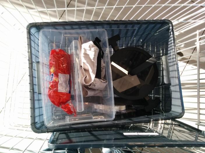 Überschaubarer IKEA Einkauf.
