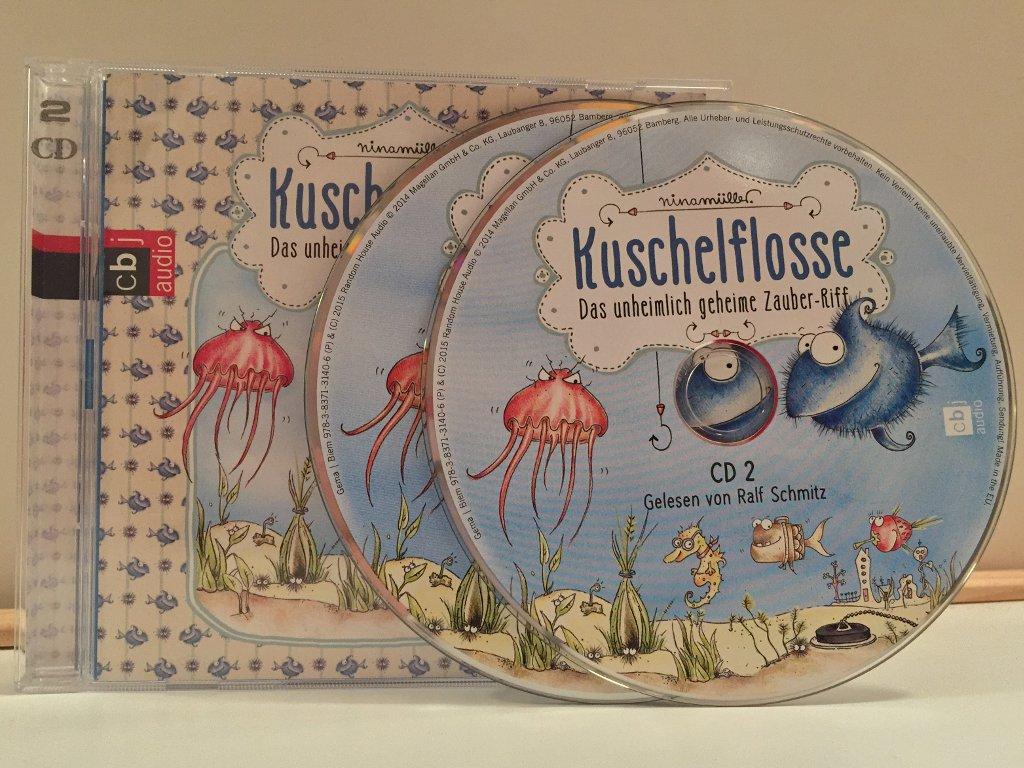 """Hörspiel """"Kuschelflosse"""" von Nina Müller, gelesen von Ralf Schmitz"""