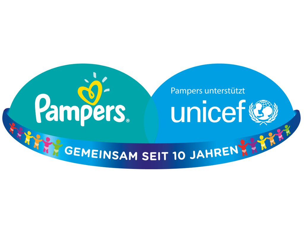 Pampers UNICEF Aktionslogo 2015