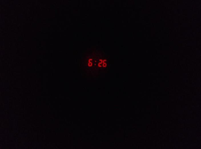 Aufstehen... mal wieder nicht geschafft pünktlich aus dem Bett zu kommen