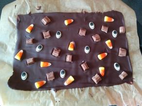 Schokolade mit Augen