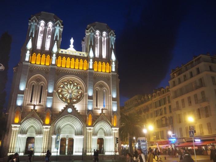Nachts in Nizza