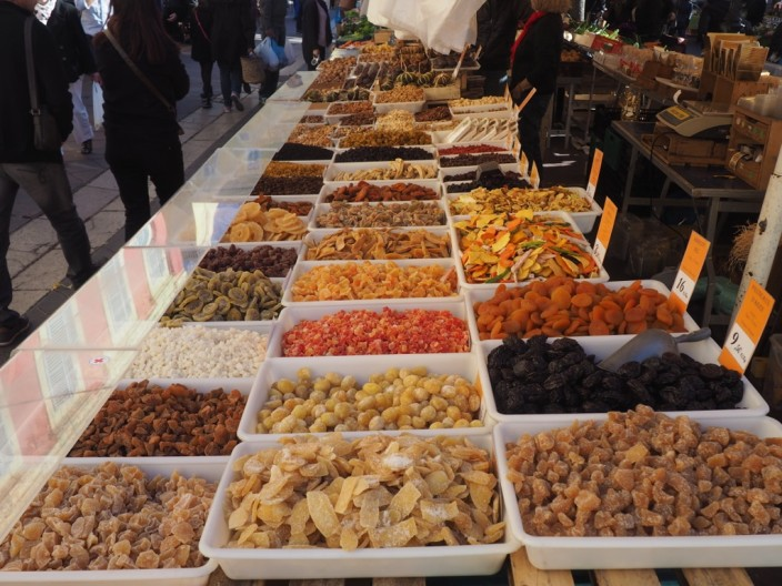 Markt in Nizza.