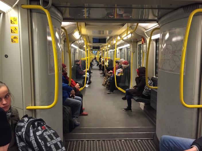 """U-Bahn fahren ist fast das größte für """"Luke"""""""