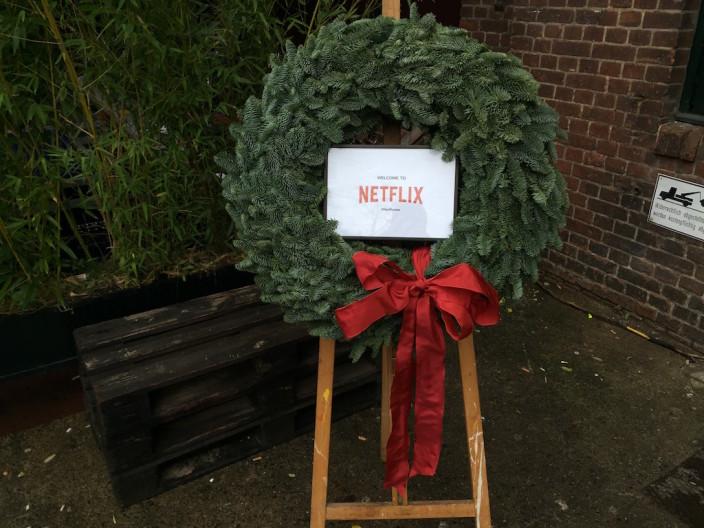 Weihnachtlich wurden wir schon in Empfang genommen.