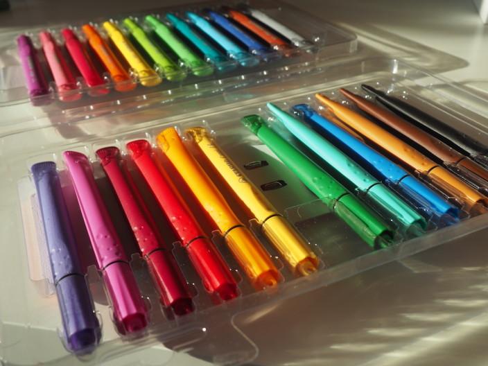STABILO Cappi: Wohl die Stifte mit der eigenartigsten Form, die ich kenne