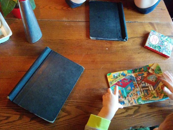 Auswärts Frühstücken... Dinge die man mit Kind nicht mehr so oft macht.