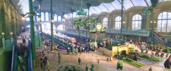 Bahnhof Zoomania - Quelle Disney
