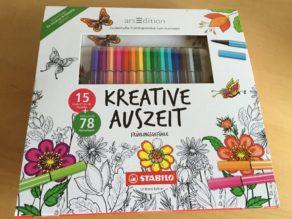 Set 1: WunderbaresSTABILO Kreative Auszeit Frühlingsgefühle Ausmalset