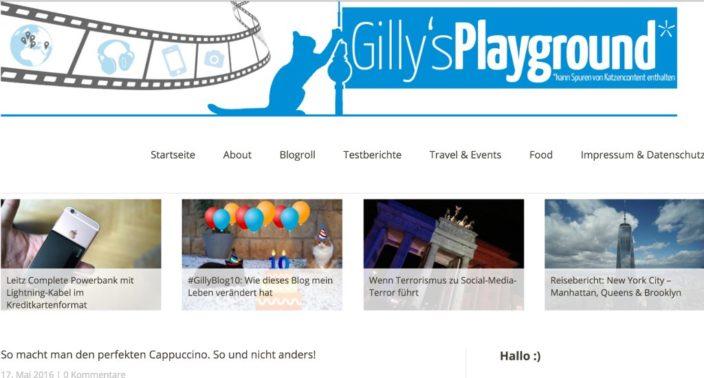 Gillys Blog