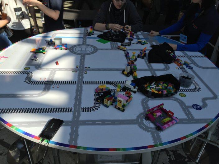 Lego auf der Republica - Baue dein Traumauto