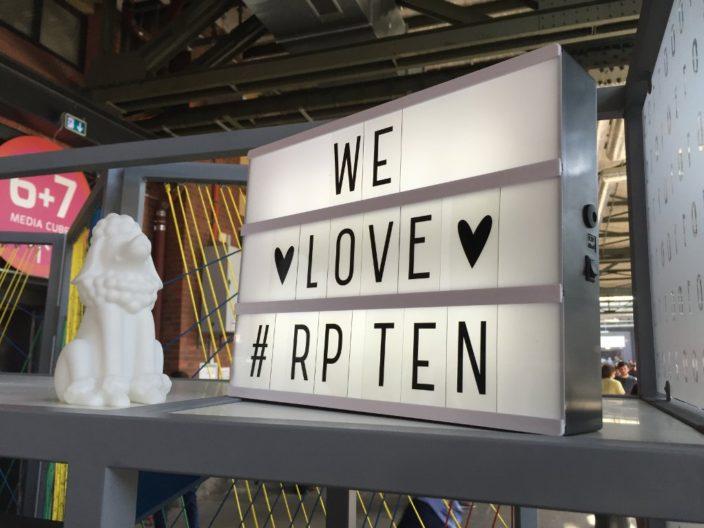 We love #rpTEN