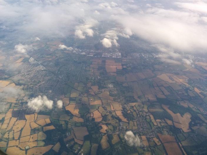 Im Anflug auf London