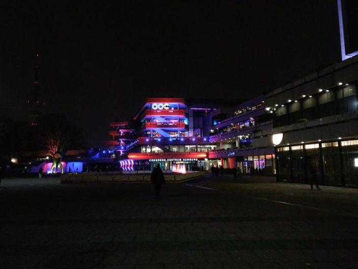33c3 bei Nacht
